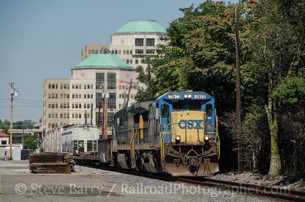 Photo 3436 CSX Transportation; Hamilton, Ohio August 7, 2015