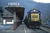 Photo 1160<br /> CSX Transportation; Prince, West Virginia<br /> February 19, 1995