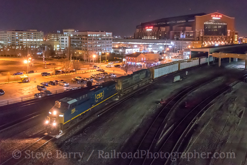 Photo 4637<br /> CSX Transportation<br /> Indianapolis, Indiana<br /> April 12, 2018