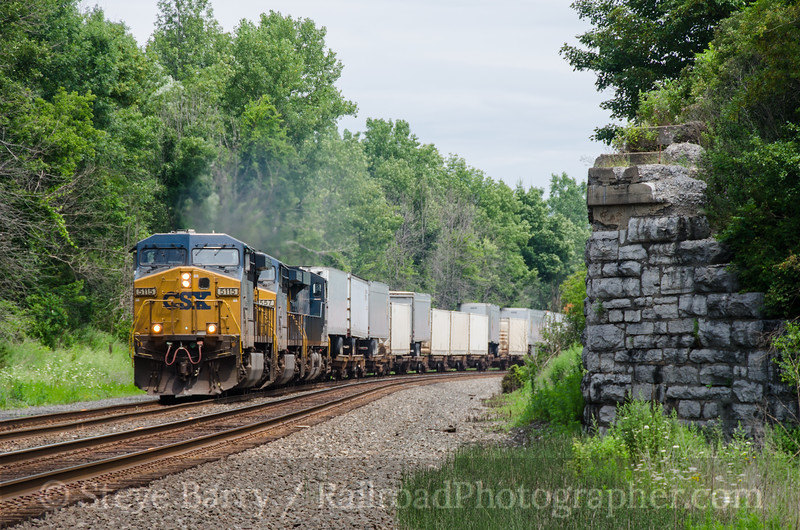 Photo 2748<br /> CSX Transportation; Churchville, New York<br /> July 20, 2013