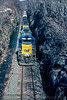 Photo 5419<br /> CSX Transportation (on Conrail)<br /> Solomon Gap, Pennsylvania<br /> March 1991