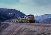 Photo 2542<br /> CSX Transportation; Moss Run, West Virginia<br /> February 19, 1996