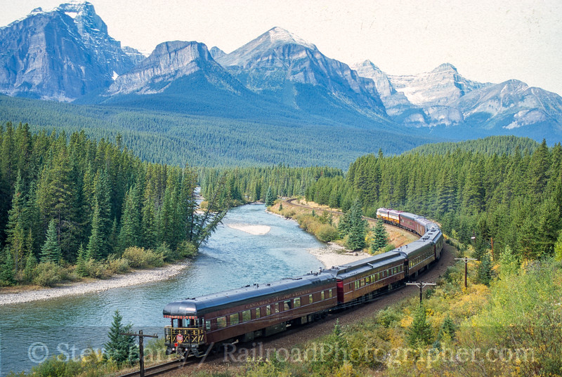Royal Canadian Pacific; Morant's Curve BC; 9/2000