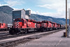 Photo 2961<br /> CP Rail; Kamloops, Brotish Columbia<br /> May 22, 1986