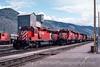 Photo 2961<br /> CP Rail; Kamloops, Brotish Columbia<br /> May 22, 1986