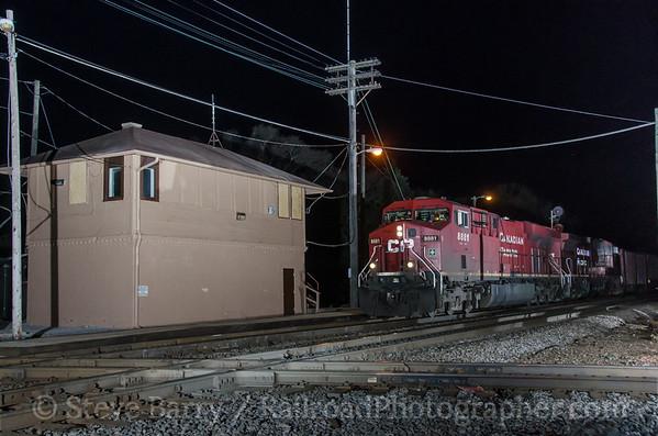 Photo 3367 Canadian Pacific; Rondout, Illinois April 11, 2015