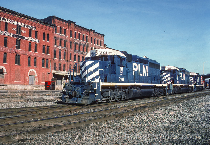 Photo 5193<br /> Canadian Pacific<br /> Binghamton, New York<br /> February 1991