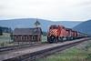 Photo 0372<br /> CP Rail; Notch Hill, British Columbia<br /> September 1988