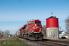 Photo 1846<br /> Canadian Pacific; Dalhousie, Quebec<br /> April 15, 2010