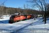 Photo 0419<br /> Delaware-Lackawanna; Lehigh Summit, Pennsylvania<br /> February 24, 2007