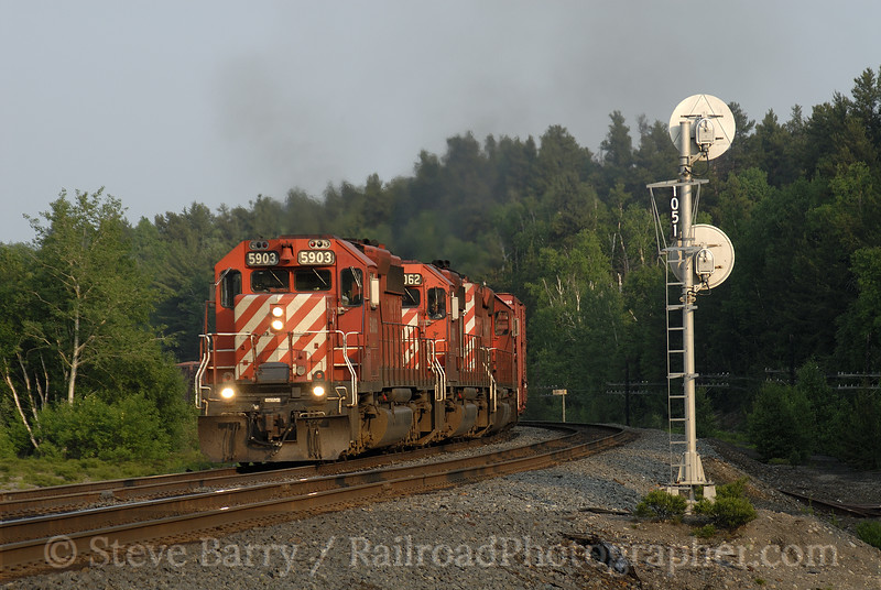 Photo 0923<br /> Canadian Pacific; Levack, Ontario<br /> September 18, 2007