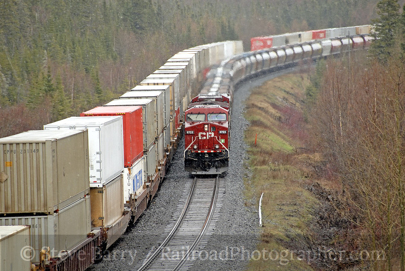 Photo 1173<br /> Canadian Pacific; Terrace Bay, Ontario<br /> May 11, 2008