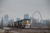Photo 2028<br /> Kansas City Southern; East St. Louis, Illinois<br /> February 25, 2011