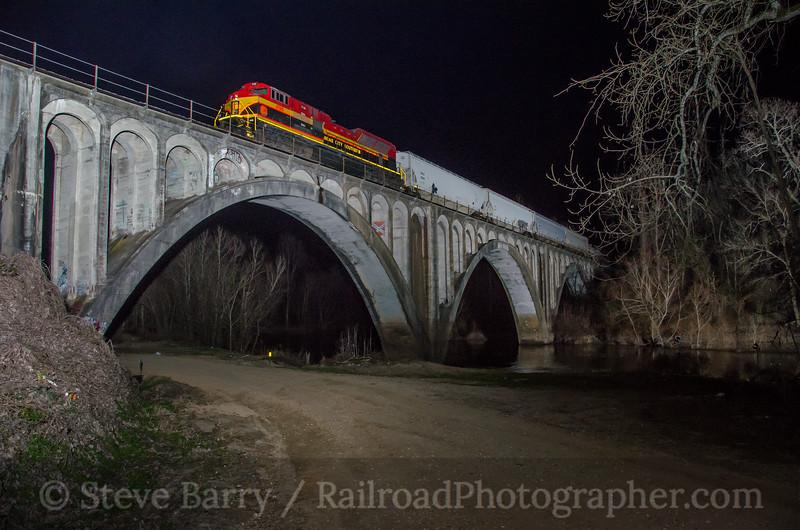 Photo 3658<br /> Kansas City Southern; Bovina, Mississippi<br /> January 31, 2016
