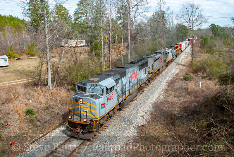 Kansas City Southern; Lost Gap, Mississippi; February 23, 2011