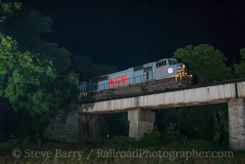 Photo 3176<br /> Kansas City Southern; Ginger Blue, Missouri<br /> June 15, 2014