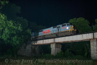 Photo 3176 Kansas City Southern; Ginger Blue, Missouri June 15, 2014