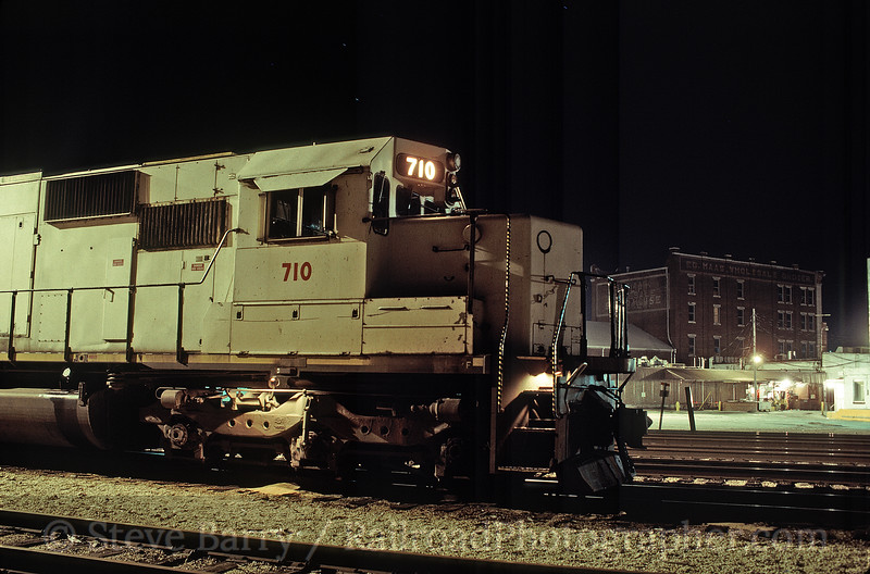 Photo 1653<br /> Kansas City Southern; Neosho, Missouri<br /> April 9, 1993