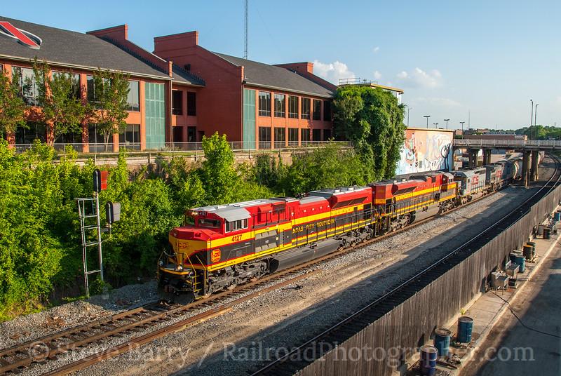 Kansas City Southern; Shreveport LA; 6/8/08