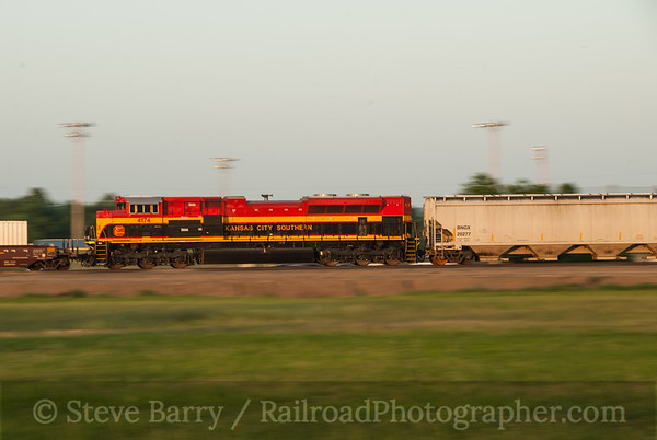 Photo 3226 Kansas City Southern; Westville, Oklahoma June 16, 2014