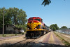 Photo 2160<br /> Kansas City Southern (on IAIS); Davenport, Iowa<br /> July 20, 2011