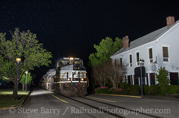 Photo 3349 Norfolk Southern; Augusta, Georgia March 31, 2015