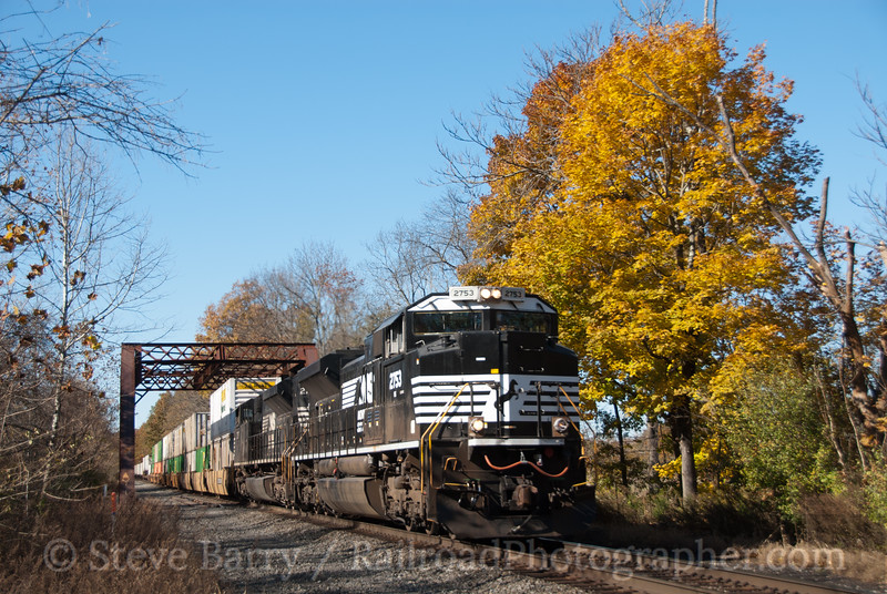 Photo 2254<br /> Norfolk Southern; Hamden, New Jersey<br /> November 5, 2011