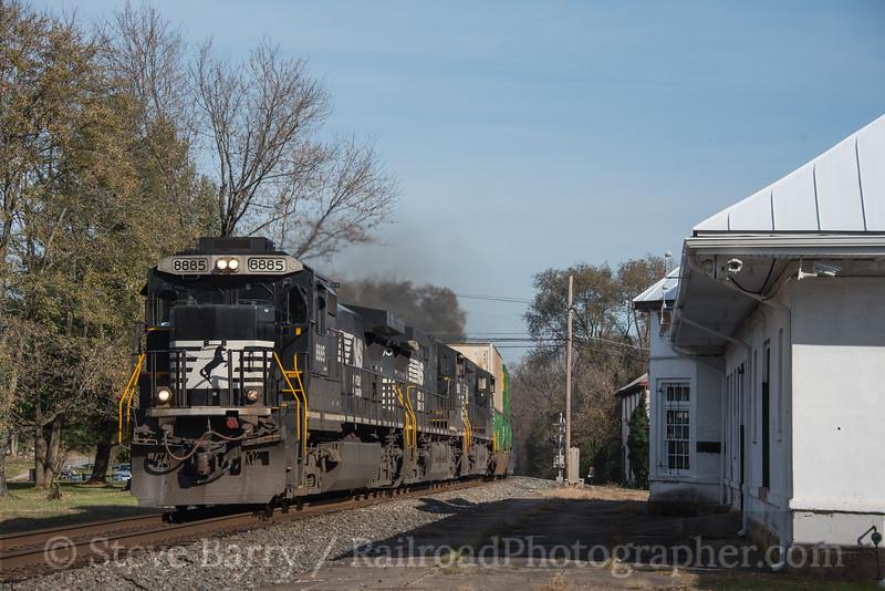 Photo 4415<br /> Norfolk SouthernBoyce, Virginia<br /> November 15, 2017