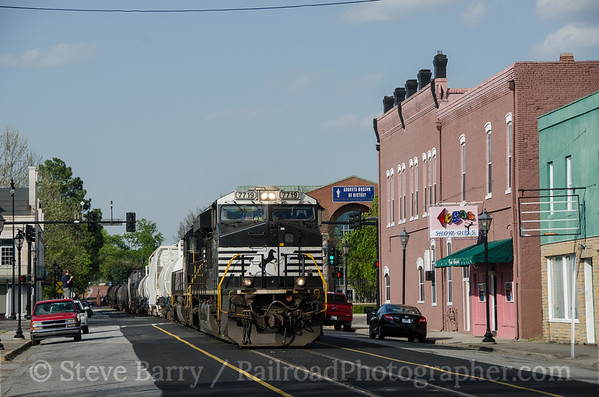 Photo 3348 Norfolk Southern; Augusta, Georgia March 31, 2015