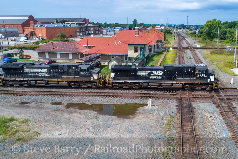 Photo 5140<br /> Norfolk Southern<br /> Marion, Ohio<br /> August 12, 2018