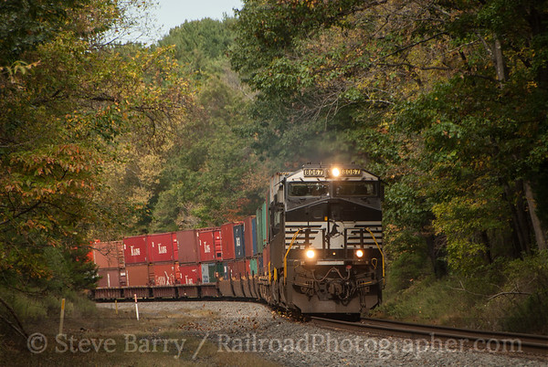 Photo 3229 Norfolk Southern; Stanton Station, New Jersey October 9, 2014