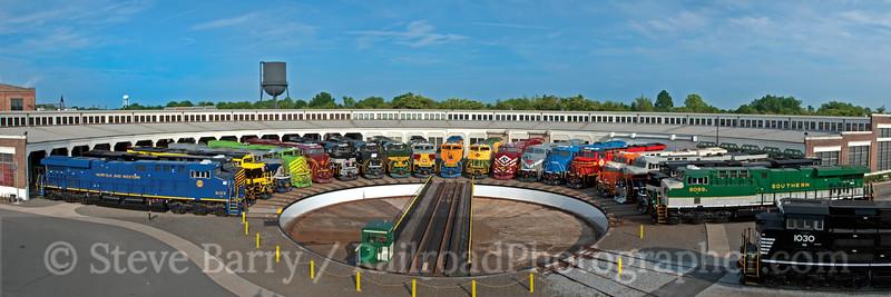 Photo 2412 North Carolina Transportation Museum; Spencer, North Carolina July 2, 2012