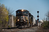 Photo 2687<br /> Norfolk Southern; Laureldale, Pennsylvania<br /> April 7, 2012