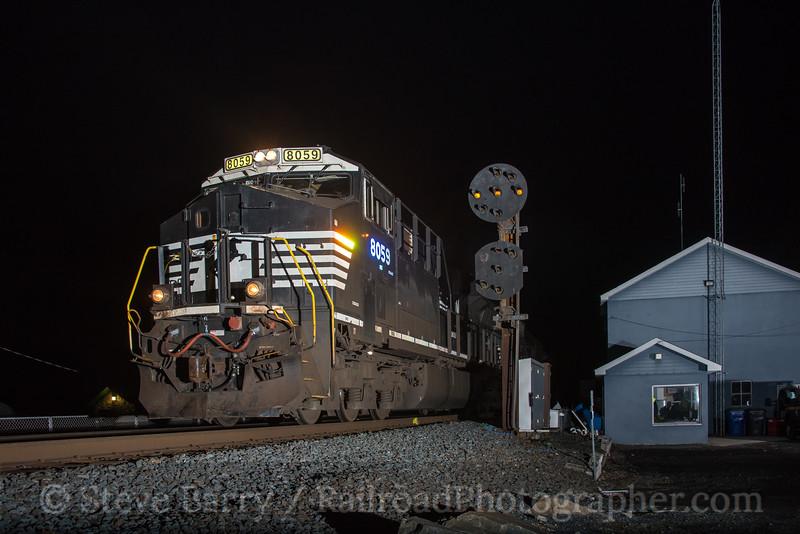 Photo 4621<br /> Norfolk Southern<br /> Port Deposit, Maryland<br /> March 29, 2018