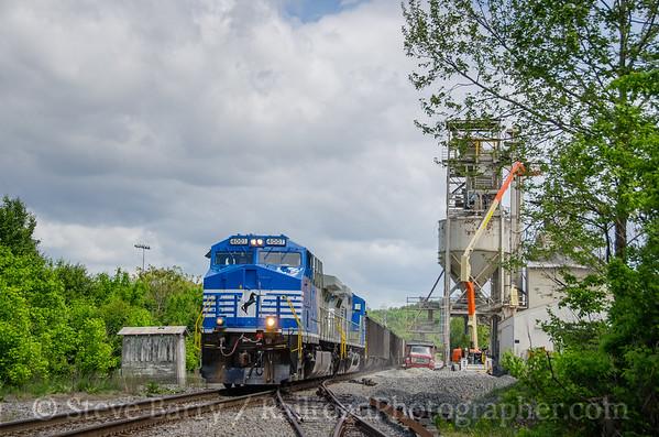 Photo 3755 Norfolk Southern; Starkey, Virginia May 6, 2016