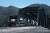 Photo 1207<br /> Norfolk Southern; Maybuery, West Virginia<br /> February 18, 1995