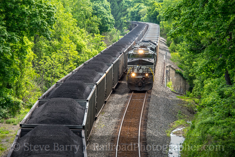 Photo 4690<br /> Norfolk Southern<br /> Clarksville, Pennsylvania<br /> May 21, 2018