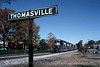 Photo 1167<br /> Norfolk Southern; Thomasville, North Carolina<br /> November 4, 1995