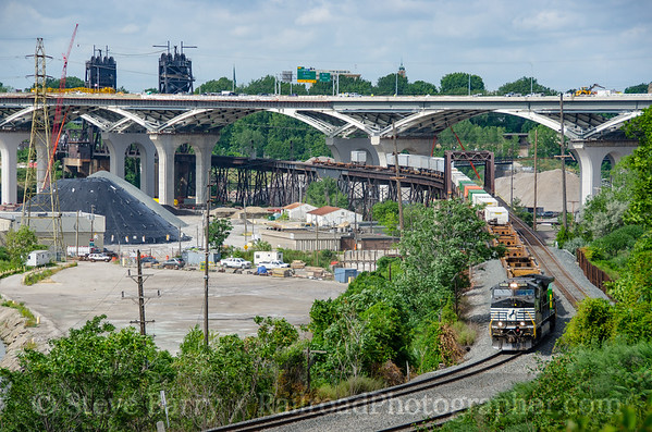 Photo 3917 Norfolk Southern; Cleveland, Ohio August 16, 2016