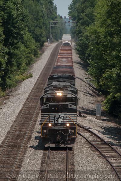 Photo 2404<br /> Norfolk Southern; Spencer, North Carolina<br /> July 2, 2012
