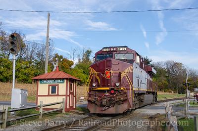 Photo 3995 Norfolk Southern (on Strasburg); Cherry Hill, Paradise, Pennsylvania November 6, 2016