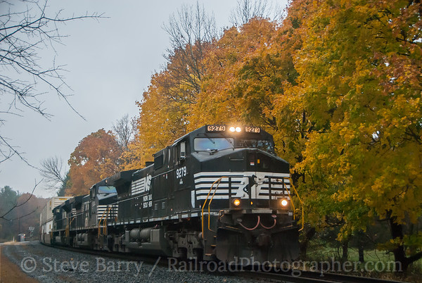 Photo 3246 Norfolk Southern; Stanton Station, New Jersey November 6, 2014