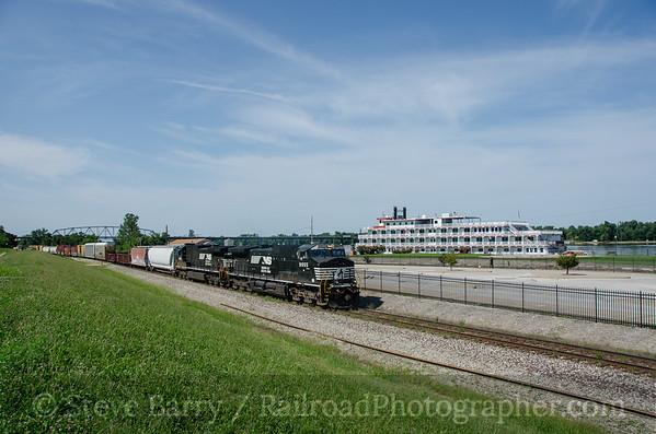 Photo 3448 Norfolk Southern; Hannibal, Missouri August 13, 2015