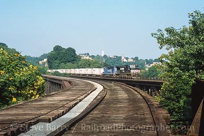 Photo 3582 Norfolk Southern; Phillipsburg, New Jersey August 2001