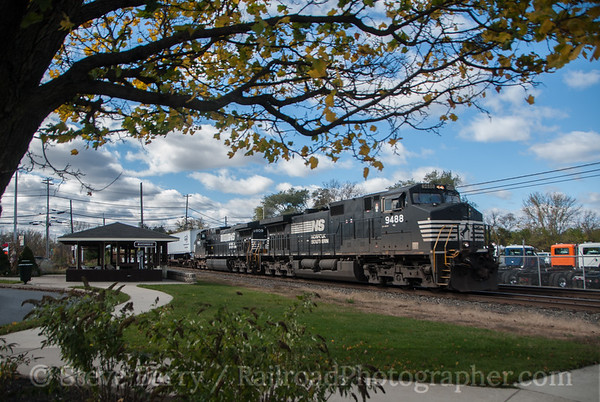 Photo 3244 Norfolk Southern; Macungie, Pennsylvania November 2, 2014