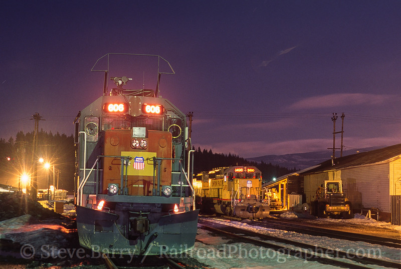 Photo 4488<br /> Union Pacific<br /> Truckee, California<br /> March 2001