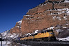 Photo 0534<br /> Union Pacific; Echo Canyon, Echo, Utah<br /> February 2004