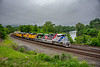 Photo 4706<br /> Union Pacific (on NS)<br /> Wilt's Curve, Bethlehem, Pennsylvania<br /> May 31, 2018