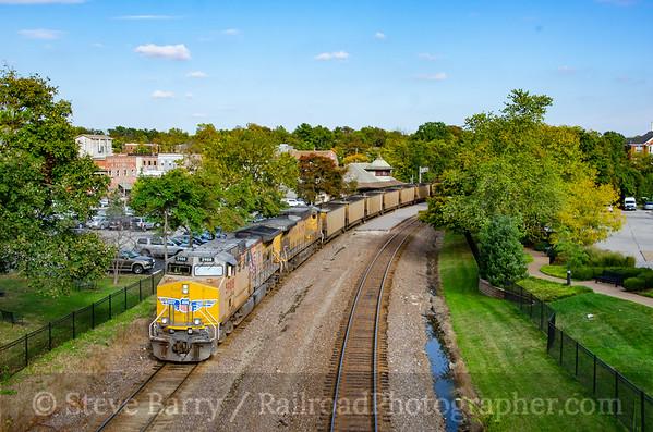 Photo 3967 Union Pacific; Kirkwood, Missouri October 14, 2016