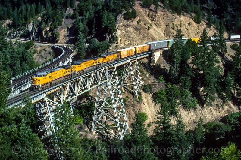 Union Pacific; Keddie CA; 7/20/92